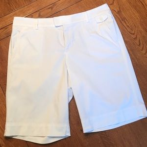 Dockers White Bermuda Shorts